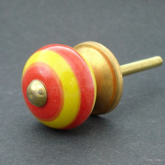 Úchytka s proužky 3 cm