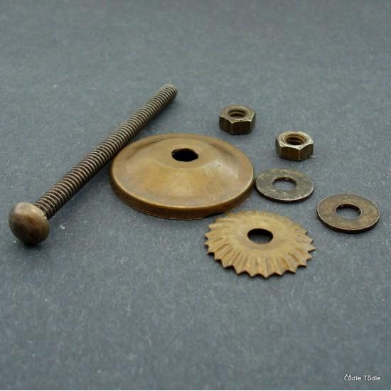 Šroub s komponenty 6,5 cm