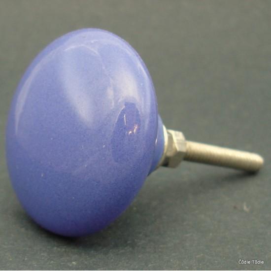Nábytková úchytka modrá 4 cm - knopka