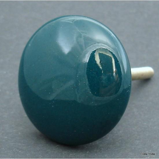 Nábytková úchytka zelená 4 cm - knopka