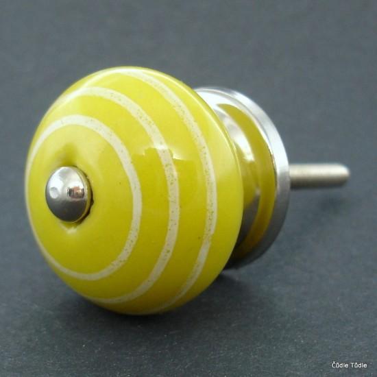Úchytka žlutá 3,7 cm