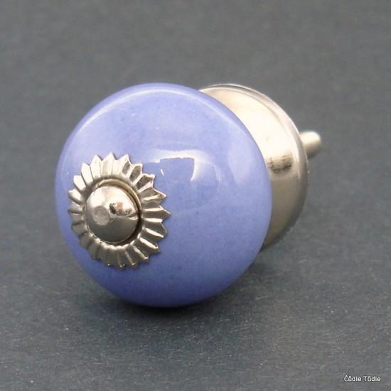 Úchytka modrofialová 3 cm