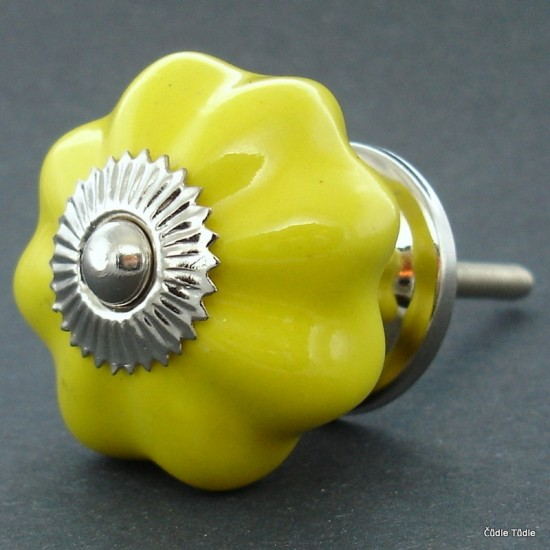 Úchytka žlutá 4 cm