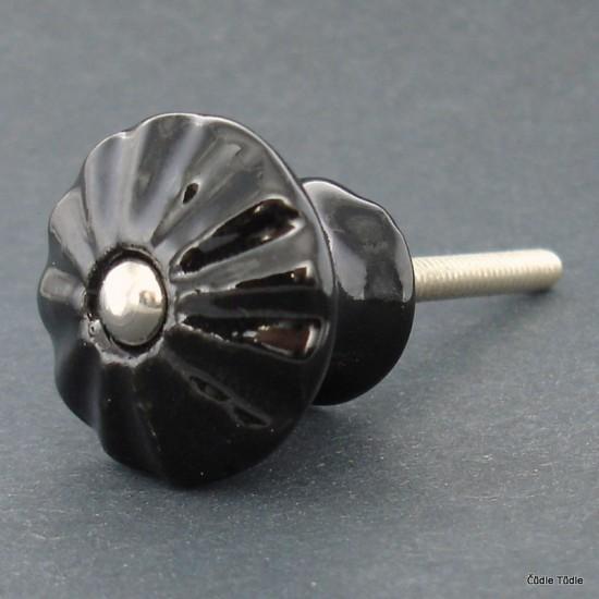 Knopka černá 3 cm