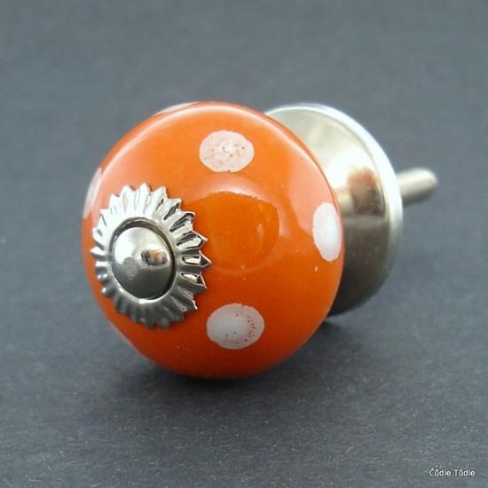 Úchytka oranžová 3 cm